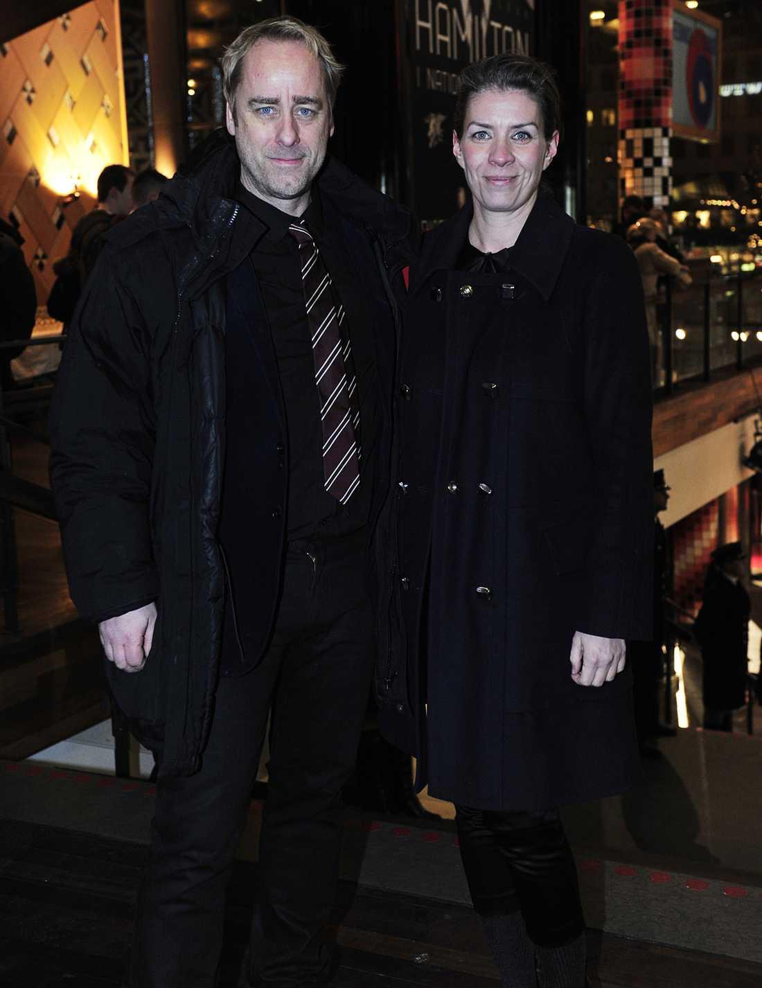 Jaana Fomin och Björn Malmros.