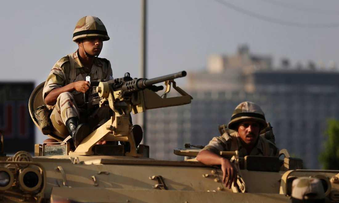 När Egyptens president Muhammad Mursi föll firade demonstranter på Tahrir-torget i Kairo.