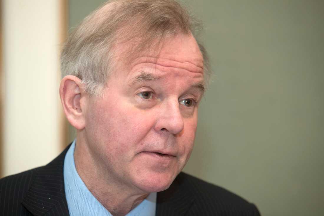 Ole Petter Ottersen, rektor vid Karolinska institutet i Solna, är bestört över KI-forskaren Ahmadreza Djalalis dödsdom. Arkivbild.