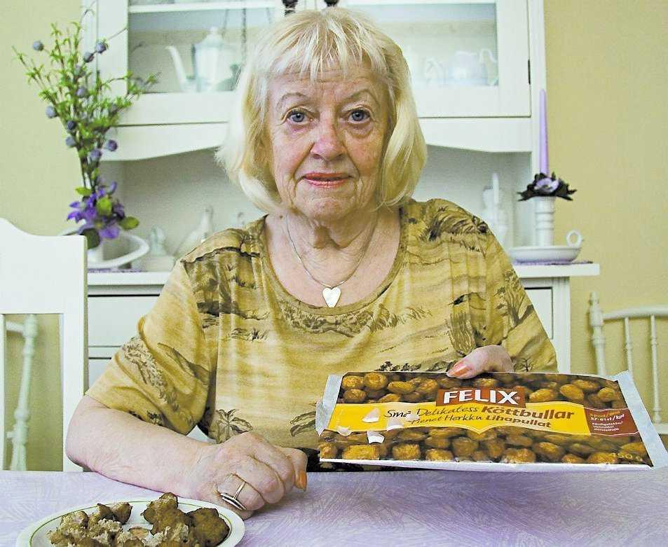 Felix – Gör det goda godare När Wanya Pettersson undersökte köttbullarna hittade hon flera nagelbitar.