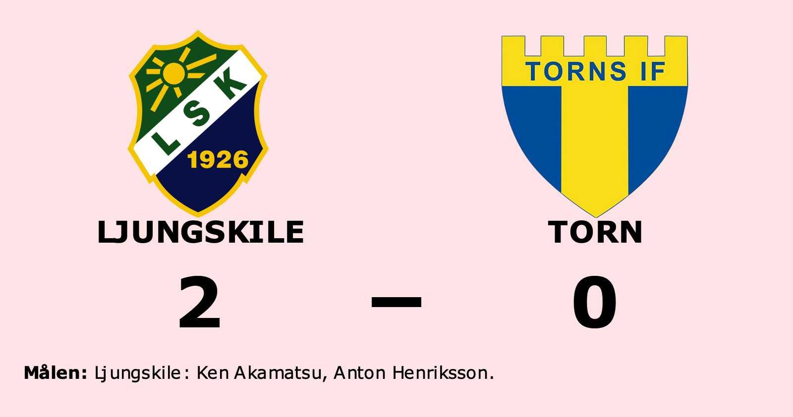 Ken Akamatsu och Anton Henriksson målgörare i Ljungskiles seger