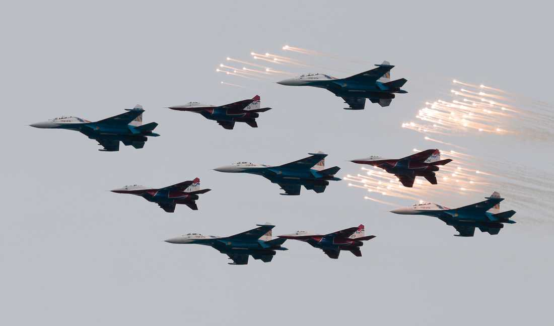 "Rysslands ""Victory day""-firande 2014."
