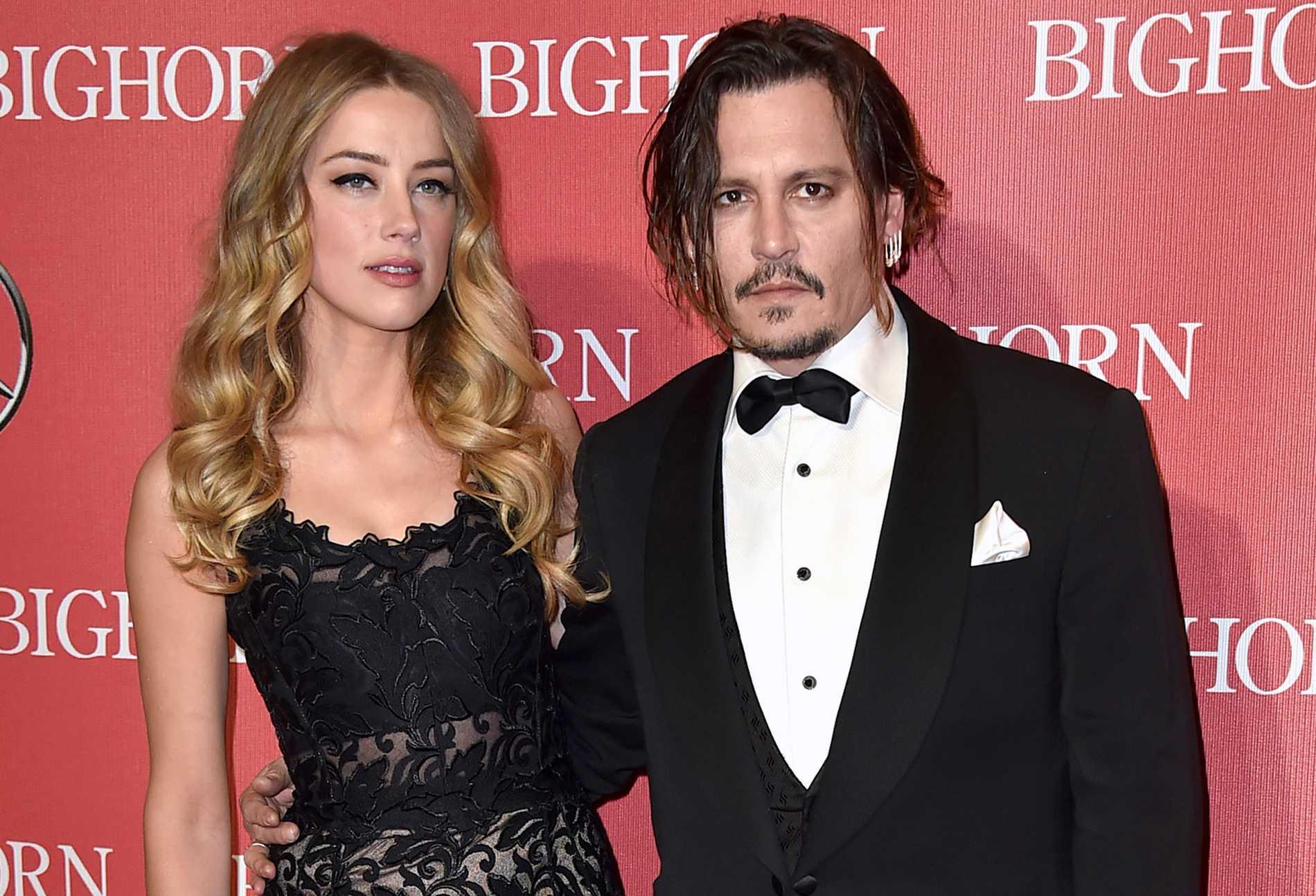 Amber Heard och Johnny Depp skilde sig 2017.