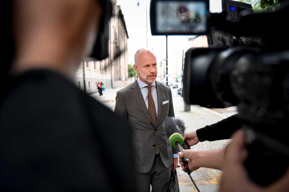 Asap Rockys försvarare Hernik Olsson Lilja överklagar häktningsbeslutet till Högsta domstolen. Arkivbild.