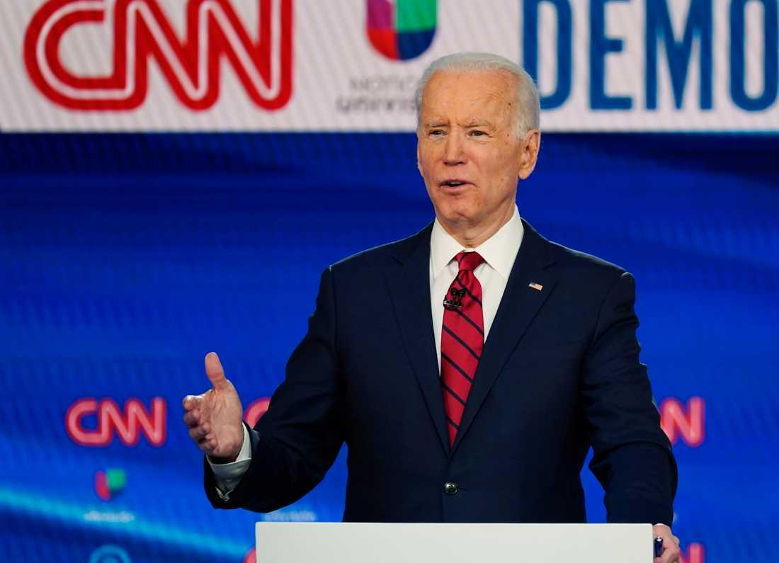 Demokraternas presidentkandidat Joe Biden.
