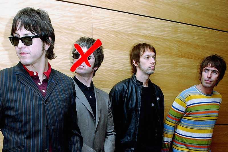 Liam Gallaghers nya band. Foto: AP
