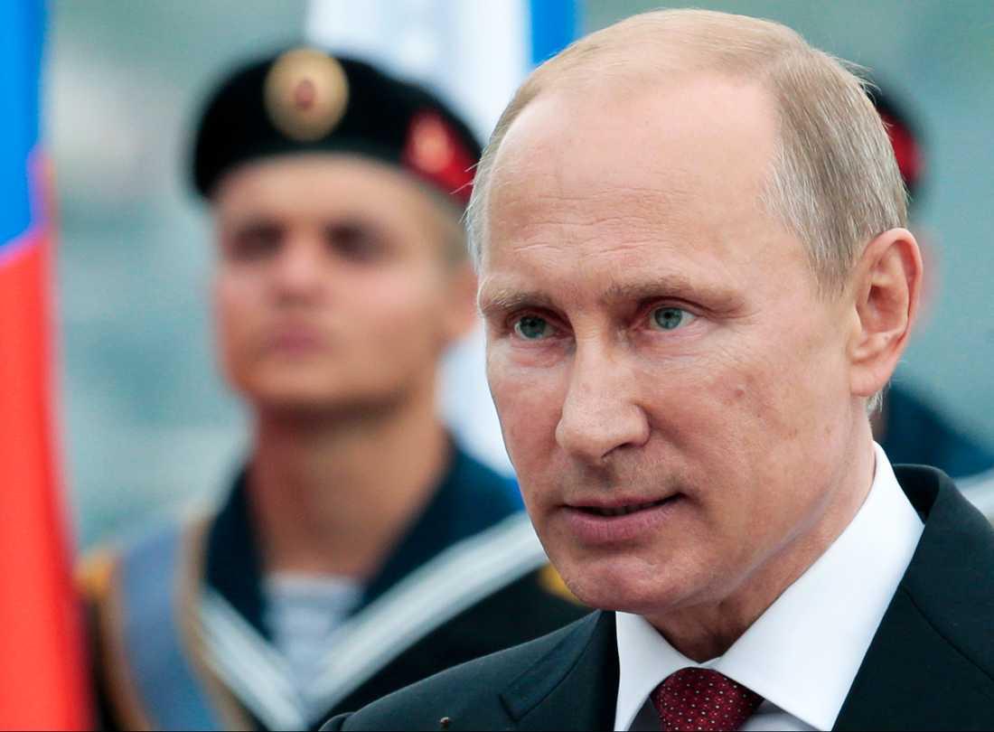 Rysslands sittande president Vladimir Putin.