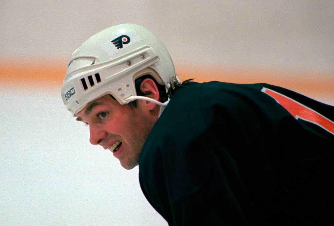 Pappa Hawerchuk i Flyers.
