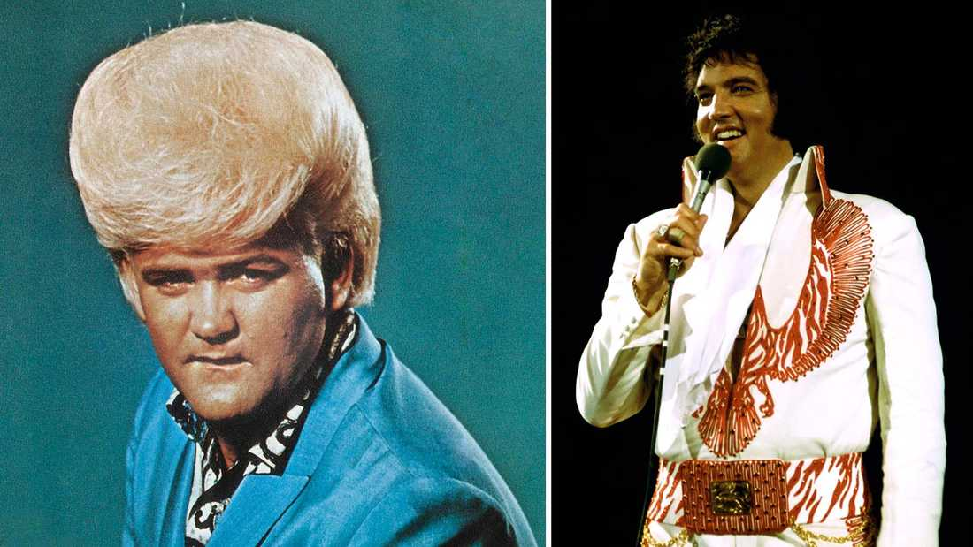 Wayne Cochran och Elvis Presley.