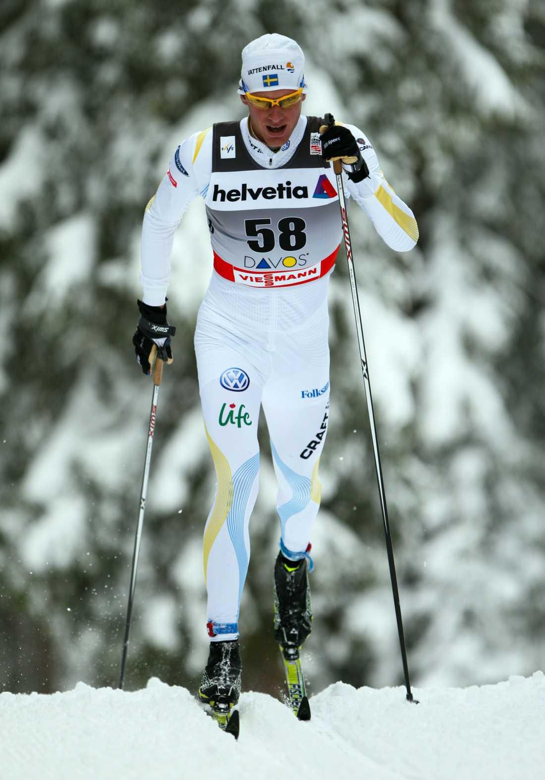 Daniel Rickardsson blev bäste svensk i går.