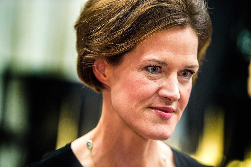 M-ledaren Anna Kinberg Batra.