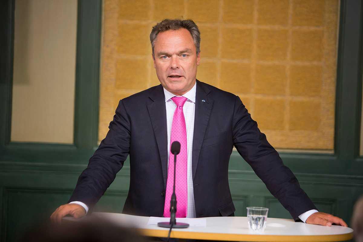 Folkpartiledaren Jan Björklund.