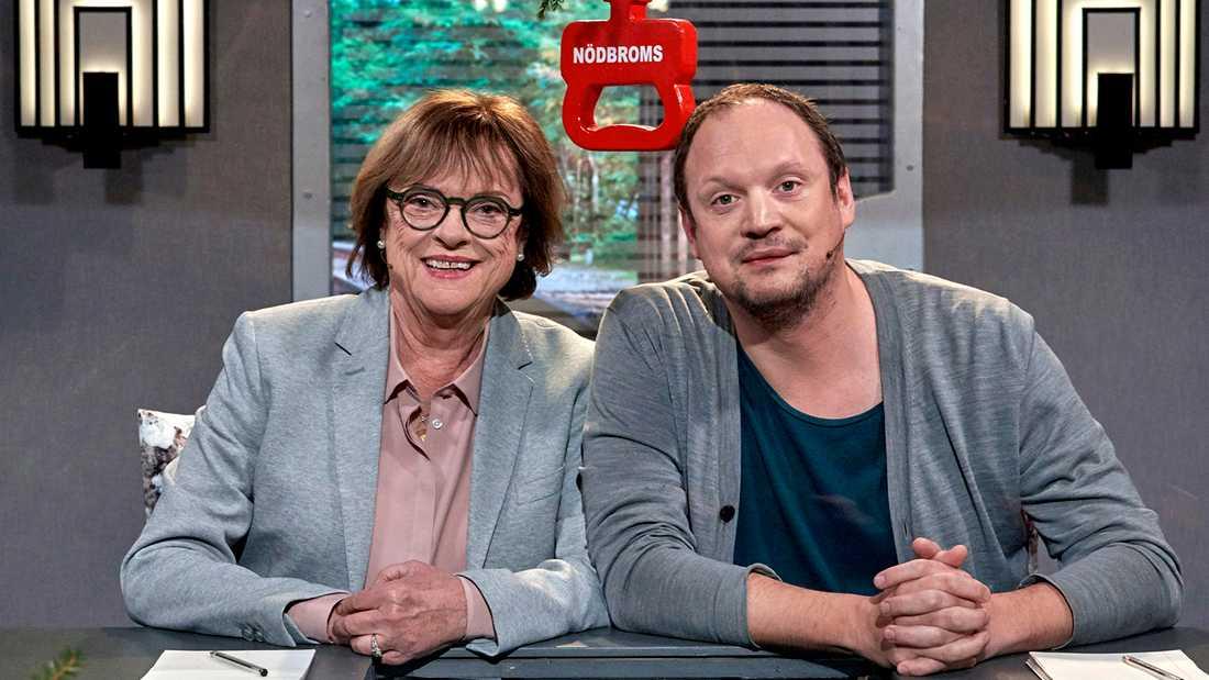 Cecilia Hagen och Jonatan Unge.