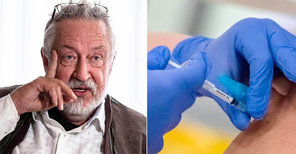 Efter ilskan: Leif GW Persson har erbjudits vaccin av privatläkare