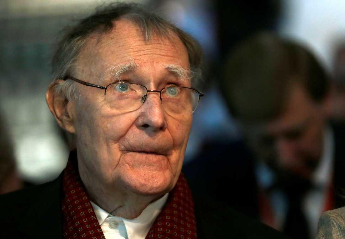 Ikeagrundaren Ingvar Kamprad avled 91 år gammal under helgen.