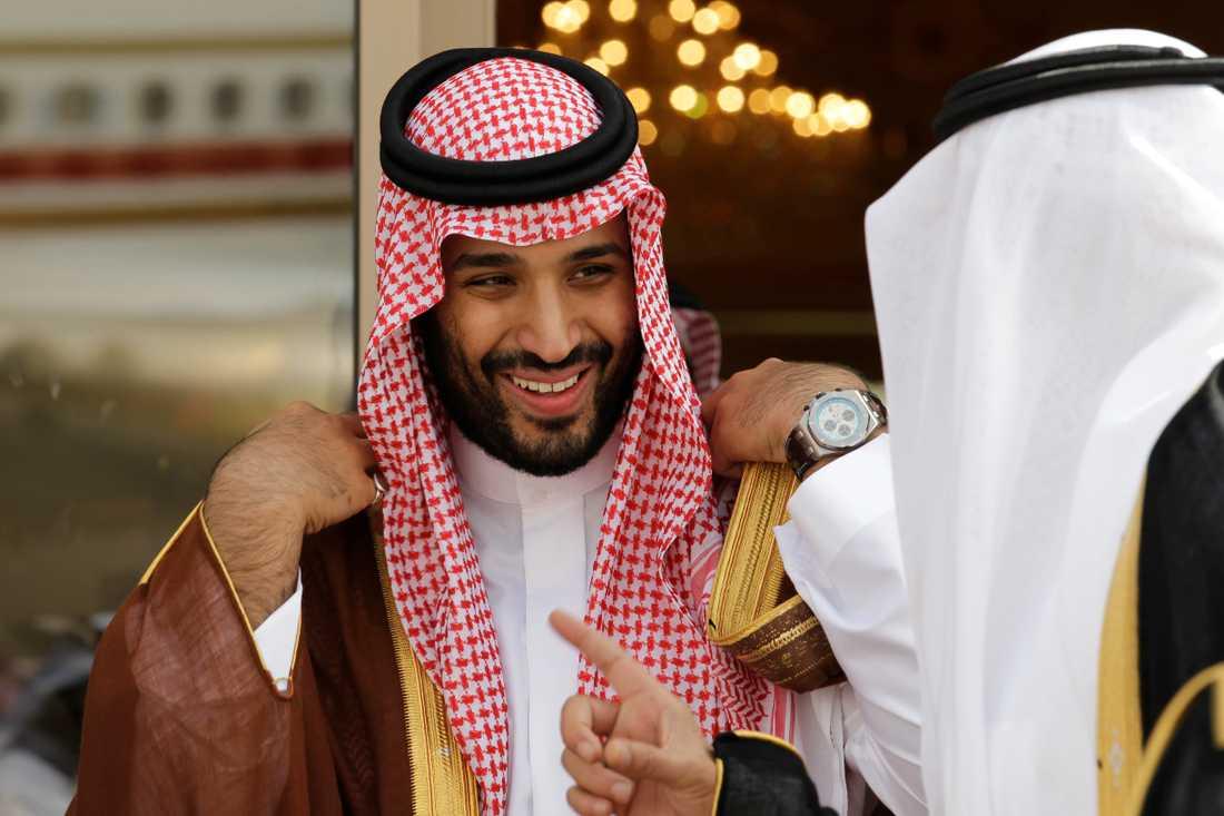 Saudiarabiens kronprins Mohammad bin Salman.