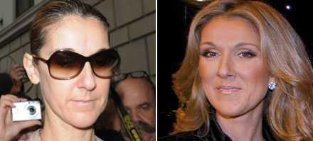 Den osminkade sanningen Celine Dion till vardags.