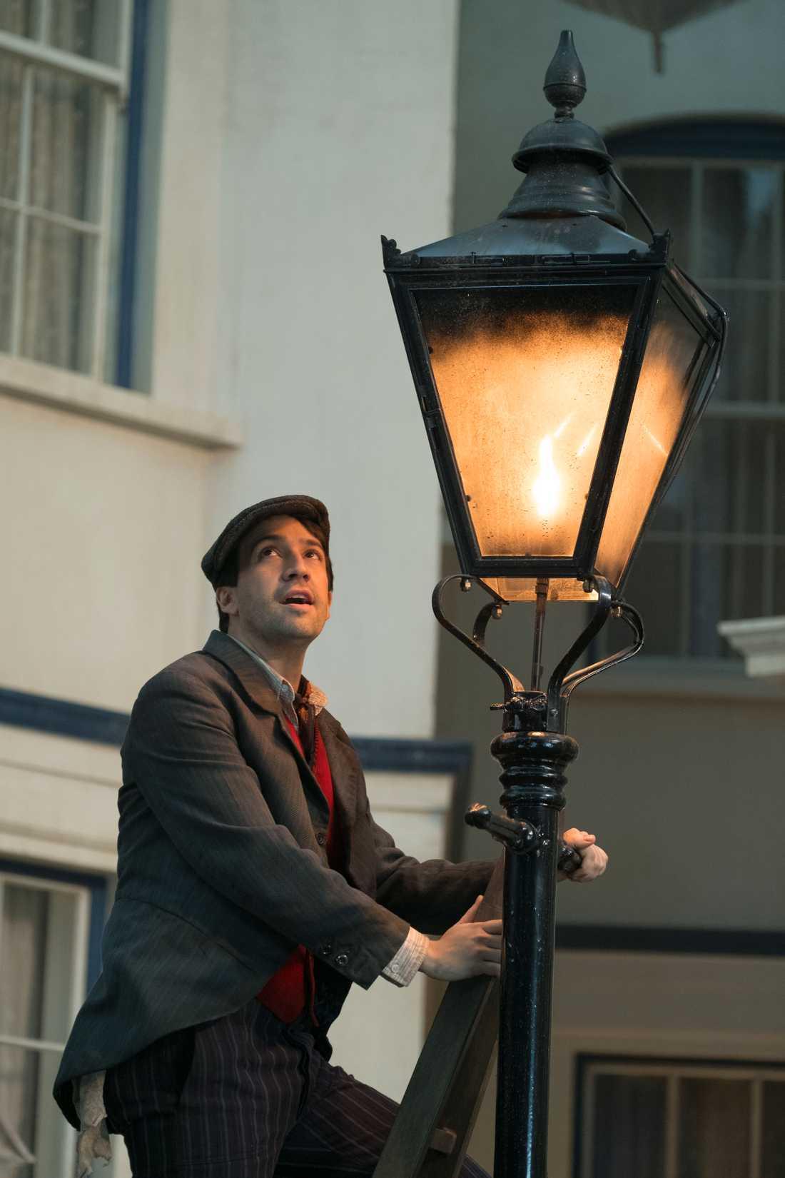 """Lin-Manuel Miranda som Jack i """"Mary Poppins kommer tillbaka""""."""