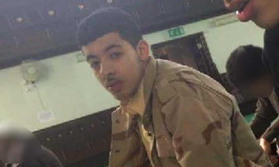Utpekade självmordsbombaren Salman Abedi.