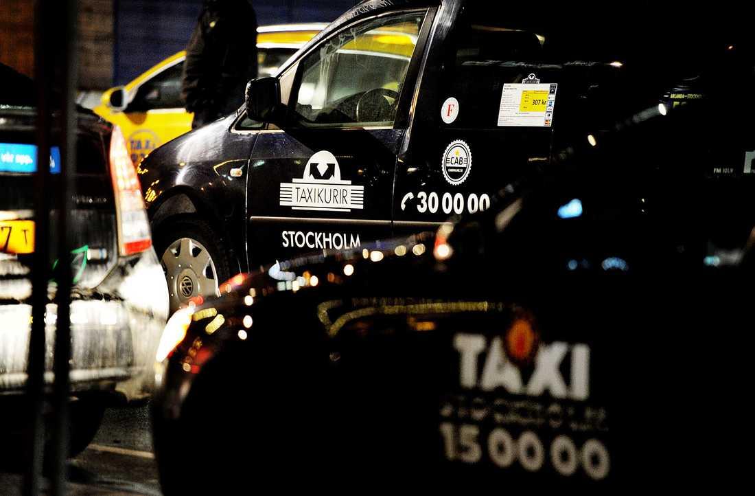 """Jakobsson uppger att han ibland valt taxi för det var """"jobbigt"""" att ta sig genom Centralstationen."""
