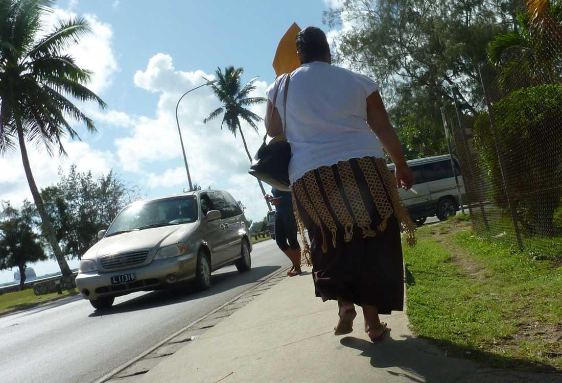 Övervikt – ett stort problem i Tonga.