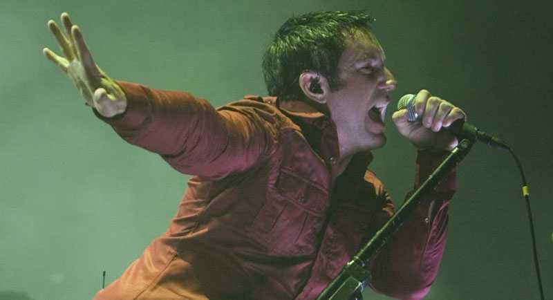 Slutspikat för Trent Reznors Nine Inch Nails.