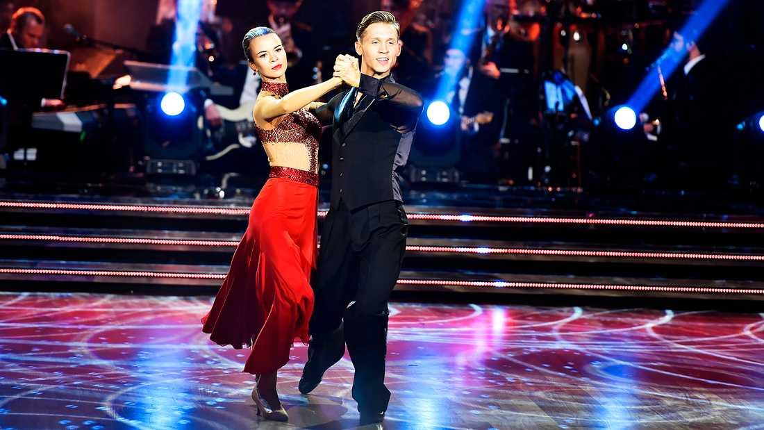 """Margaux Dietz blev känd för den breda tv-publiken genom """"Let's dance"""" 2018, då hon och dansaren Alexander Svanberg gick till kvartsfinal."""
