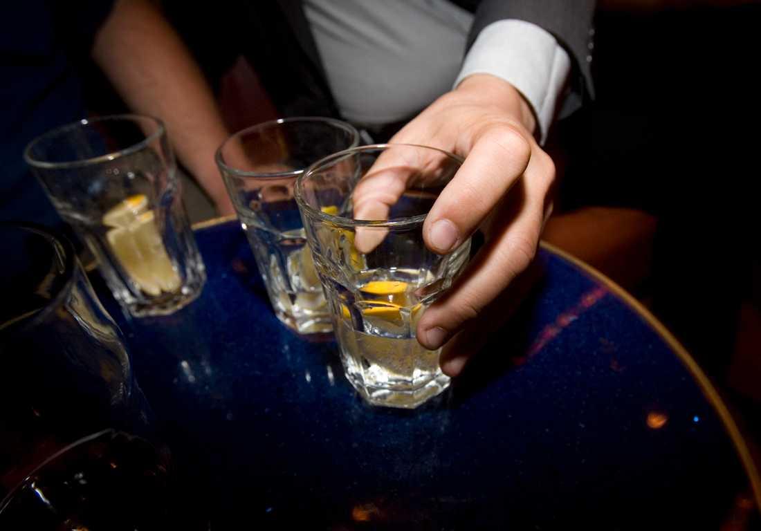 Vi dricker allt mindre jämfört med tidigare år.