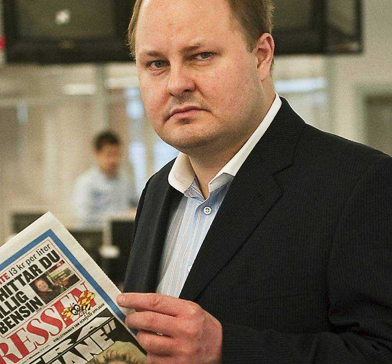 Expressens chefredaktör Thomas Mattsson.