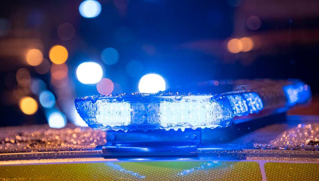 En man i 20-årsåldern skadades i benet i en skottlossning i Halmstad på onsdagskvällen. Arkivbild.
