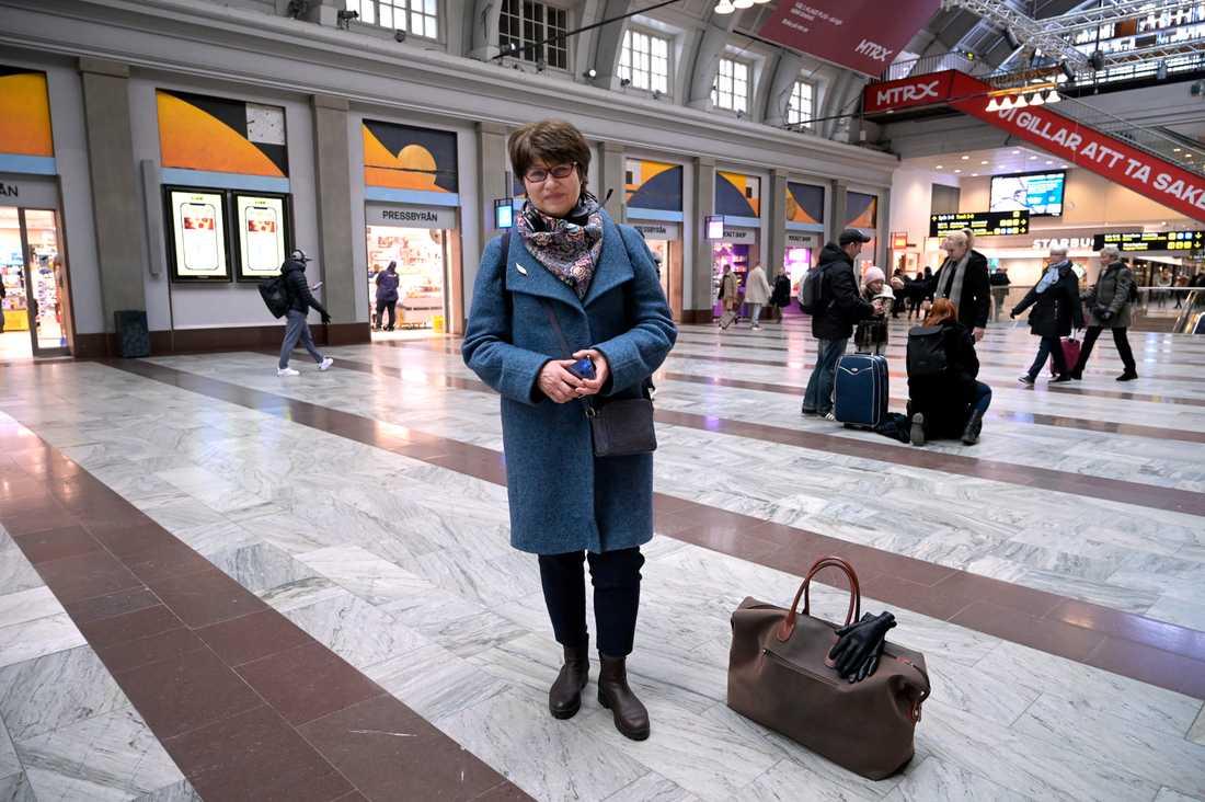 Irina Bruslin, 57 år från Stockholm.