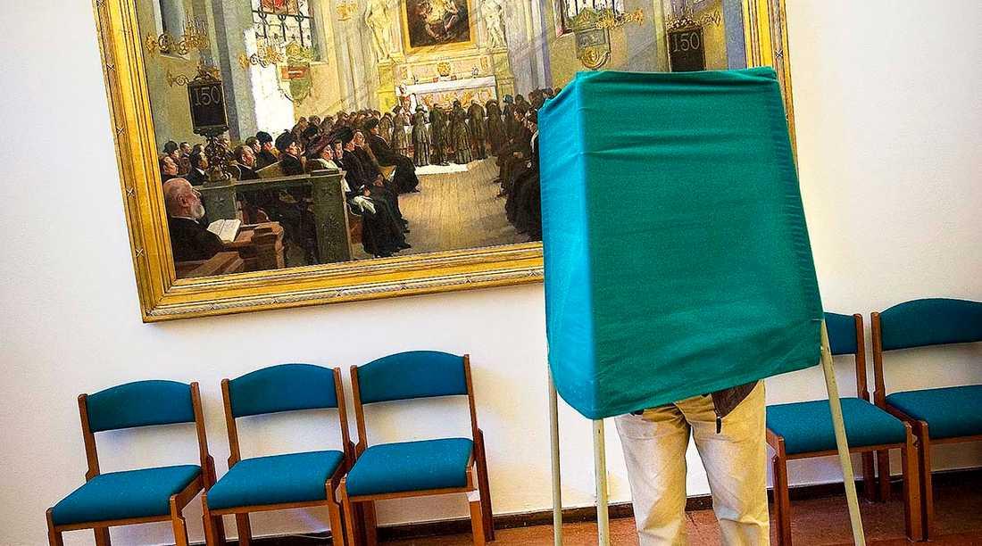 5,2 miljoner svenskar är röstberättigade i kyrkovalet nästa söndag. 2013 gick bara 700000 till urnorna.