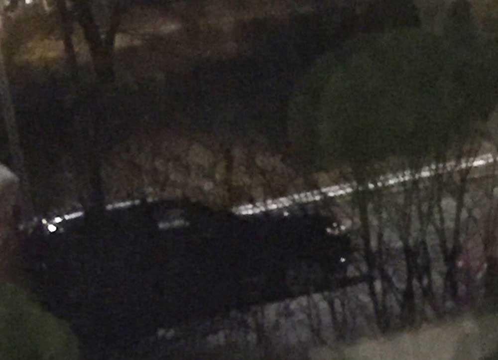 Bilen som vittnet observerade.