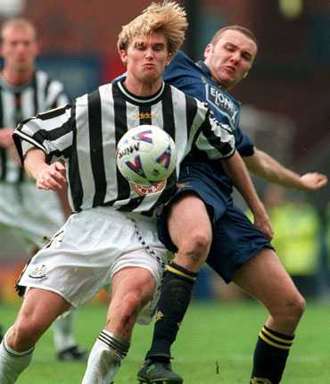 Andreas Andersson i Newcastle 1999.