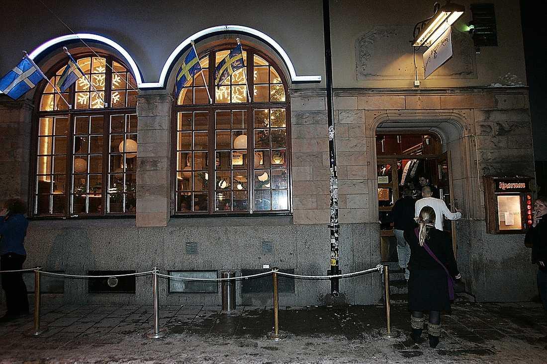 Kvarnen är en av Stockholmskrogarna som har installerat en egen uttagsautomat.