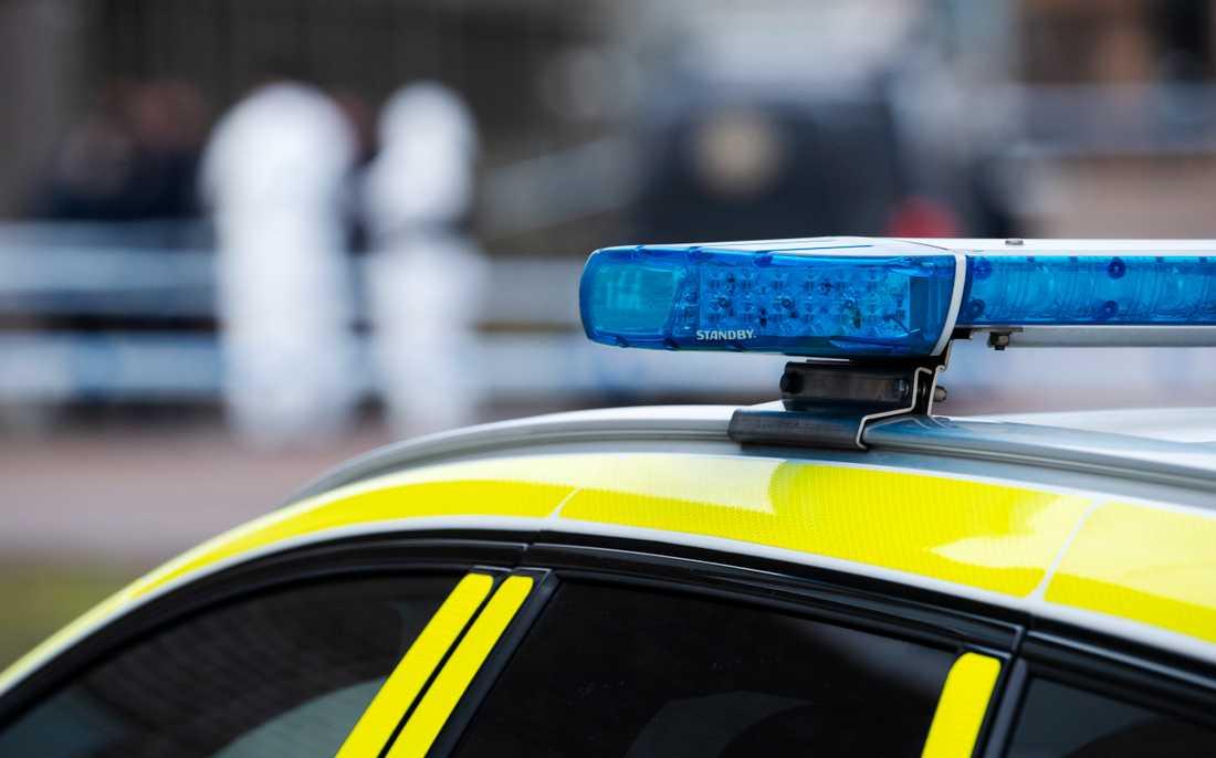 Polisen har frihetsberövat över 30 personer i samband med flera tillslag i mellersta Sverige. Arkivbild.
