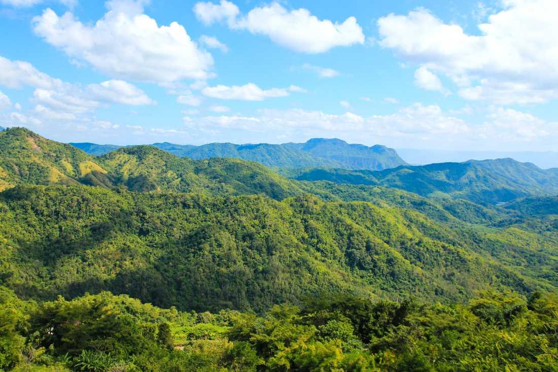 Phetchabun ligger söder om Phitsanulok
