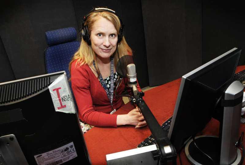 Annika Lantz, programledare och komiker