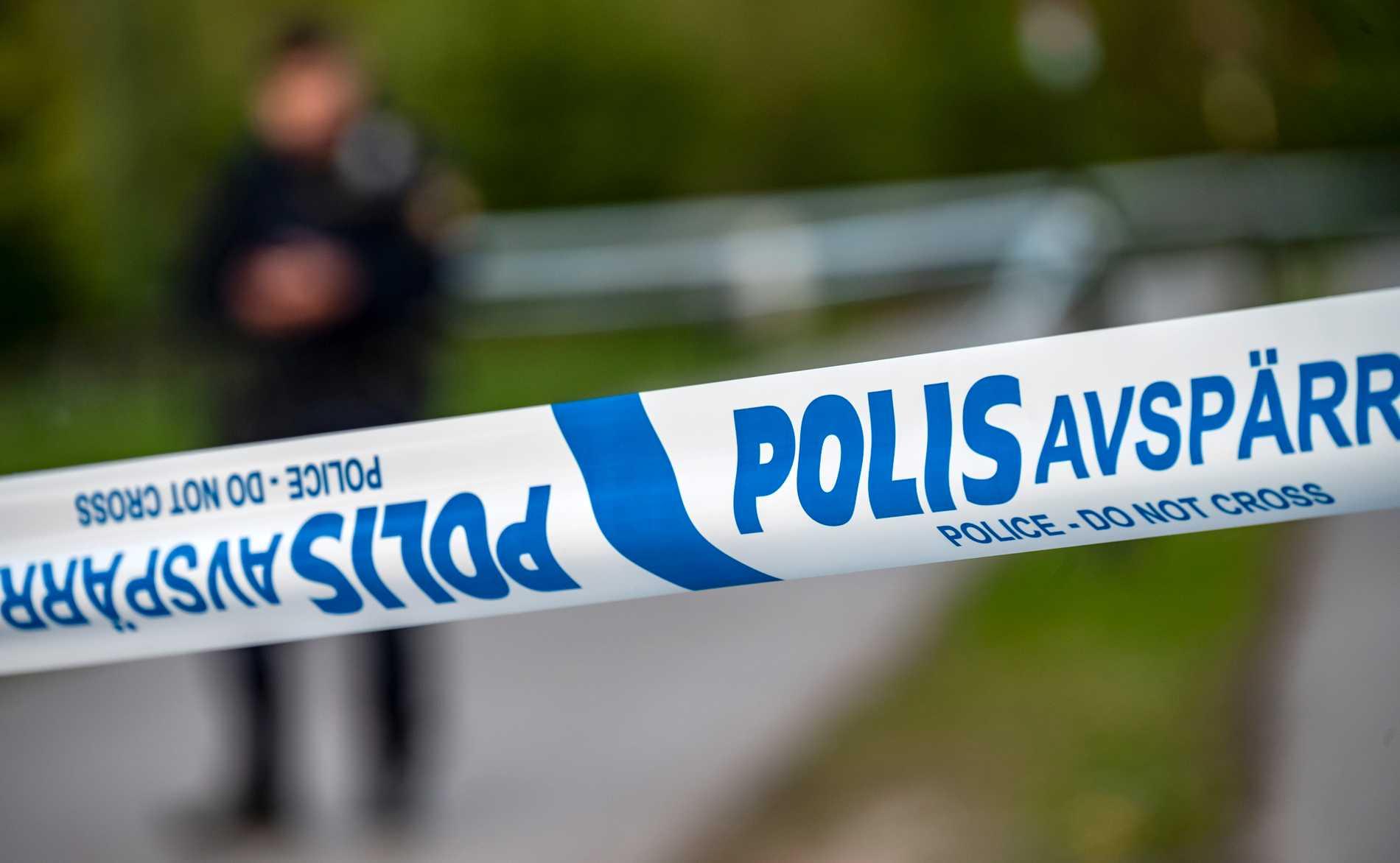 En utomhusvåldtäkt har skett i Växjö under natten. Arkivbild