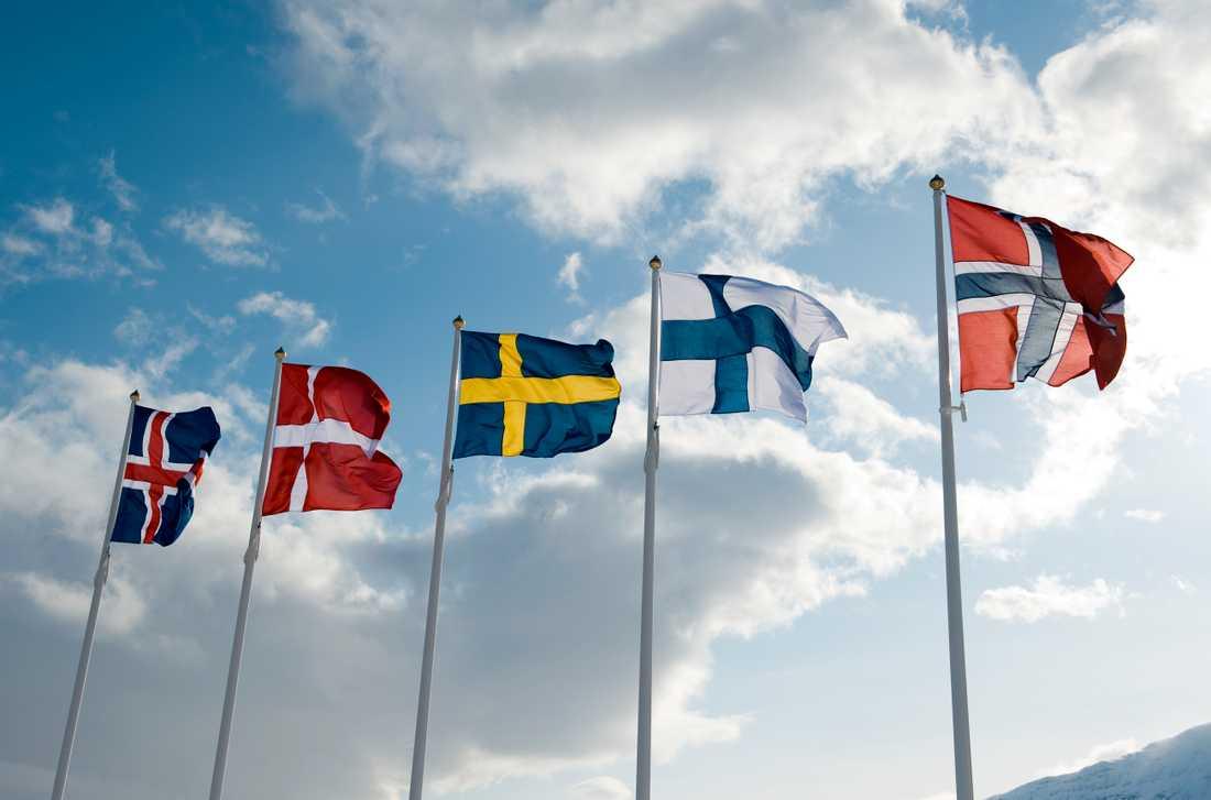 Sveriges dödstal är betydligt högre än våra grannländers.