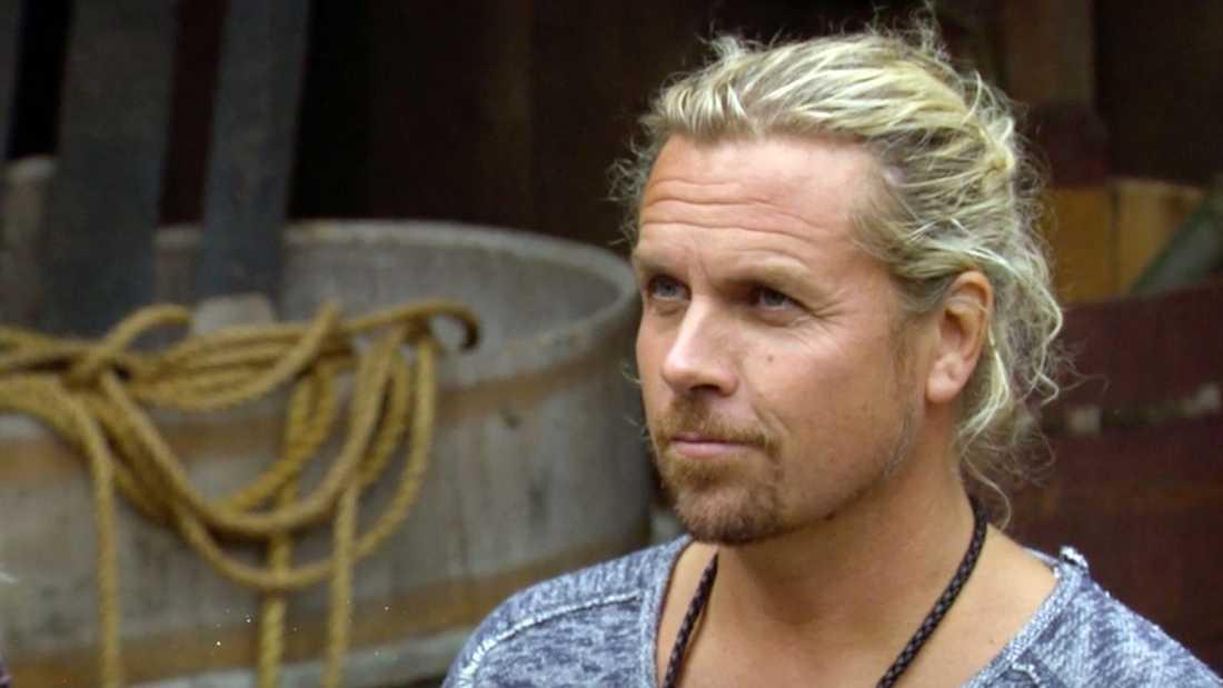 """Christian """"Kicken"""" Lundqvist i """"Farmen VIP""""."""