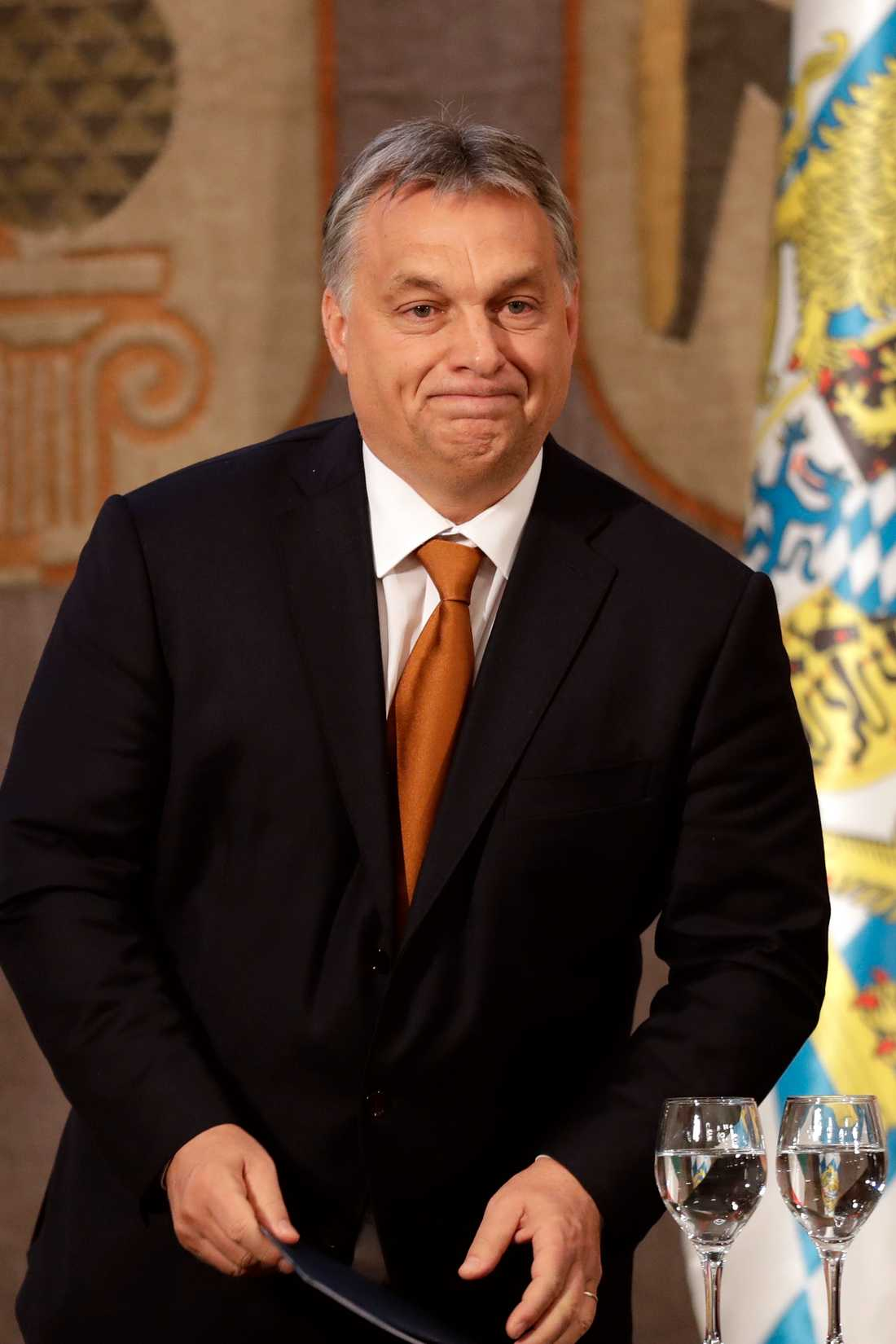 Ungerns premiärministern Victor Orban.