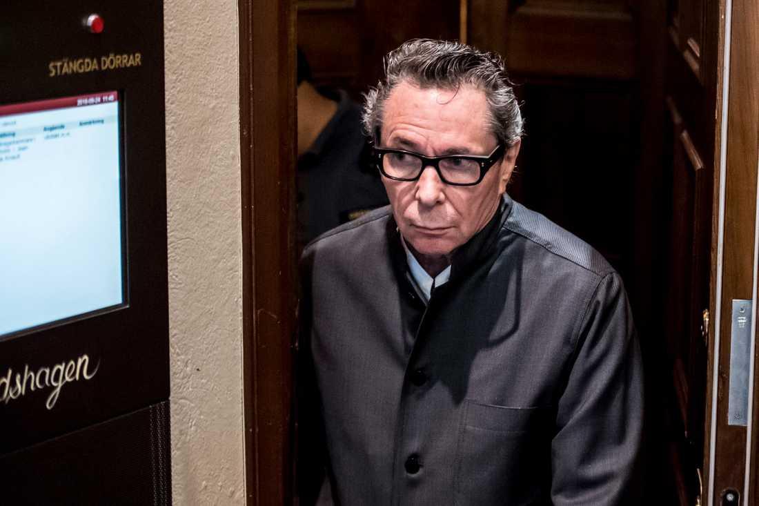 Jean-Claude Arnault dömdes till två års fängelse för våldtäkt.