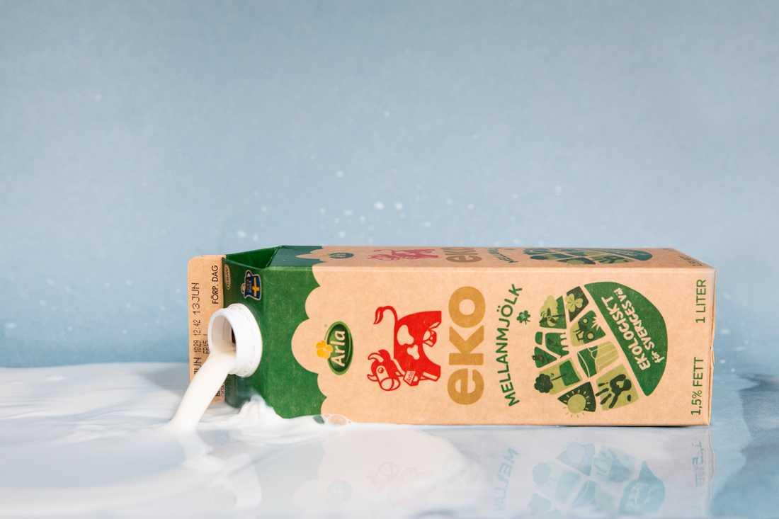 Mjölk är en av produkterna som är extra känslig under sommaren. Arkivbild.