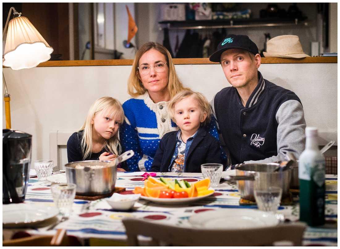 """Manfred får inte vegetarisk kost på förskolan - det är """"önskekost""""."""