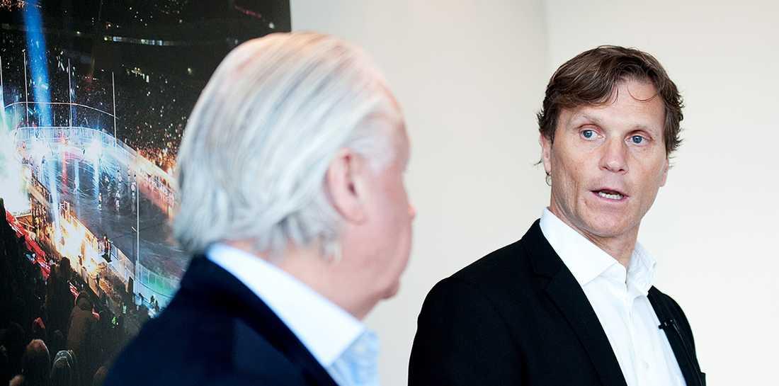 Frölundas Anderz Larqvist och Mats Grauers vill inte kommentera helgens fest som enligt Sportbladets uppgifter spårade ur.