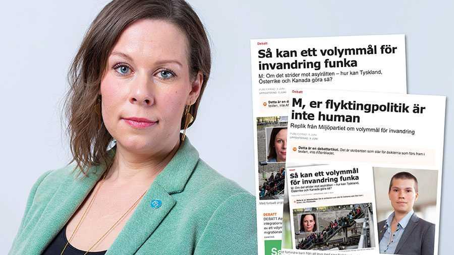 I det rödgröna Sverige riskerar en ny underklass att permanentas bland de utrikes födda. Det är allt annat än humant. Därför behöver vi ett volymmål, skriver Maria Malmer Stenergard.
