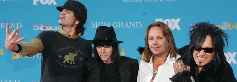 Mötley Crüe intar Borlänge i juni.