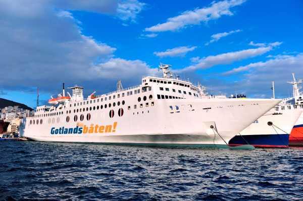 Pigge Werkelins nya Gotlandsbåt m/v Västervik.