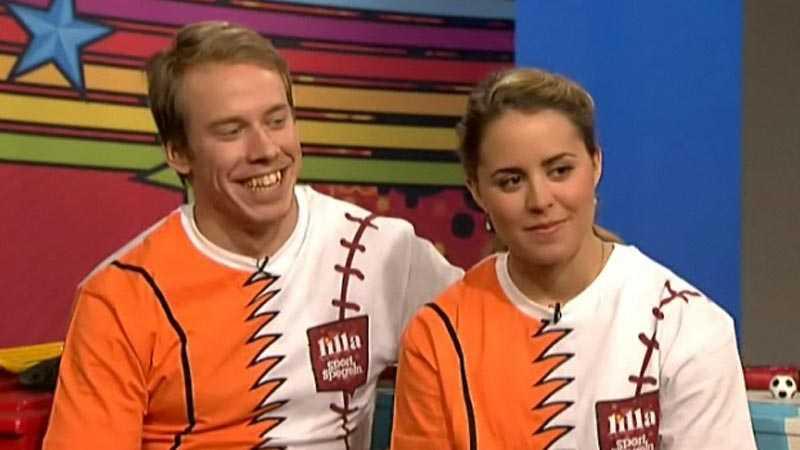 Emil Jönsson och Anna Haag.